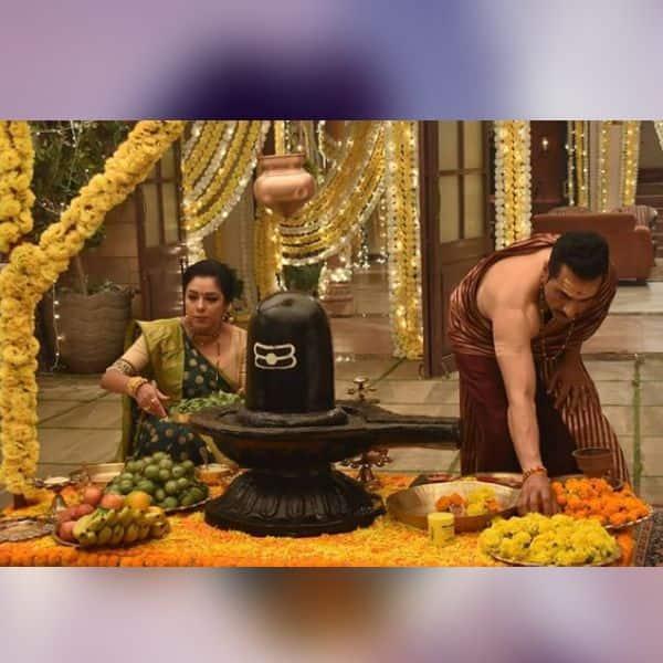 शिवरात्रि का जश्न मनाती दिखी सीरियल 'अनुपमा' (Anupamaa) की टीम