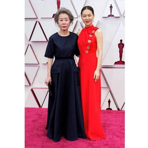 Youn Yuh-jung and Han Yeri