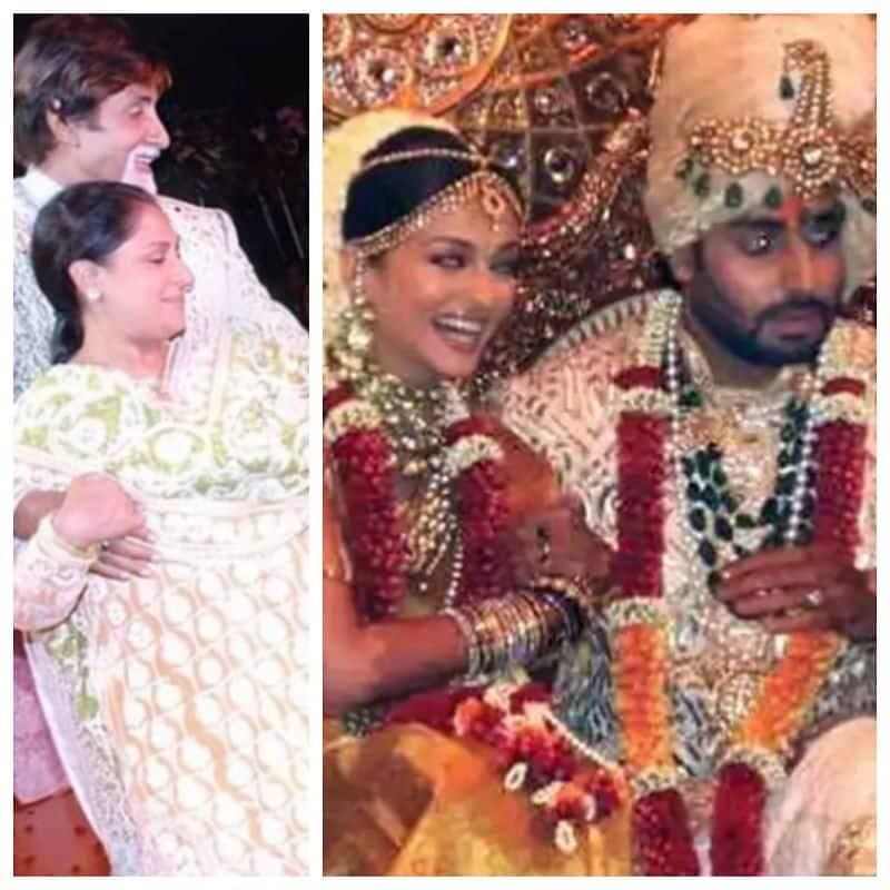 अभिषेक बच्चन की शादी पर बिग बी ने जया के साथ किया था डांस