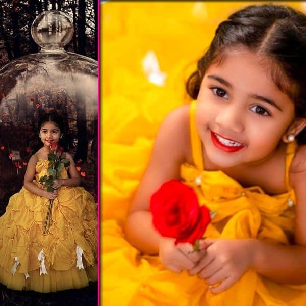 साउथ स्टार अल्लू अर्जुन (Allu Arjun)  की बेटी अरहा ने खींचा फैंस का ध्यान