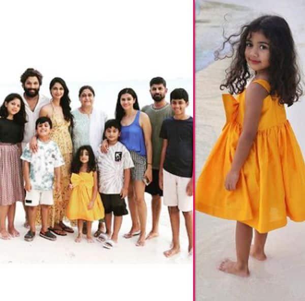 Allu Arjun's family getaway in Maldives