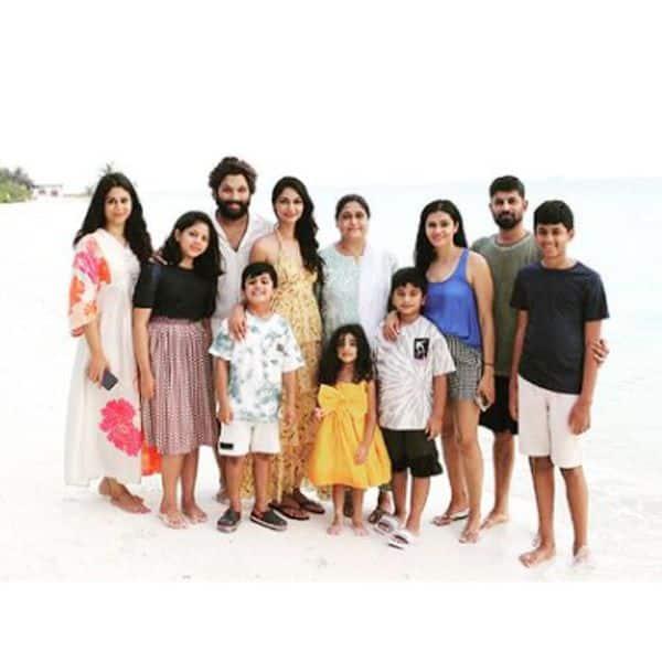पूरी फैमिली संग मालदीव में हैं अल्लू अर्जुन