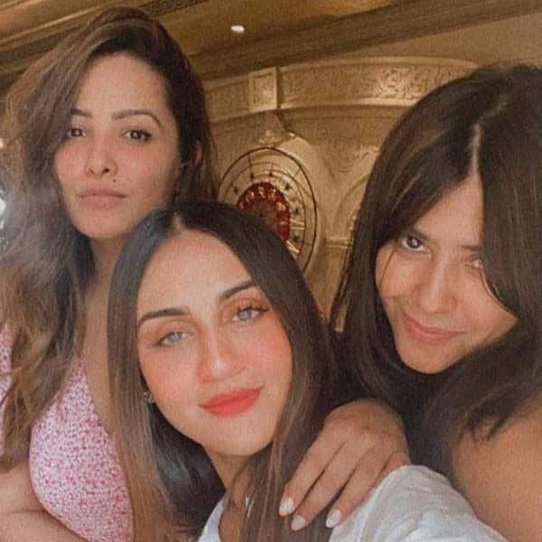 बर्थडे पार्टी में गर्ल गैंग के साथ पोजर बनीं अनीता हसनंदानी (Anita Hassanandani)