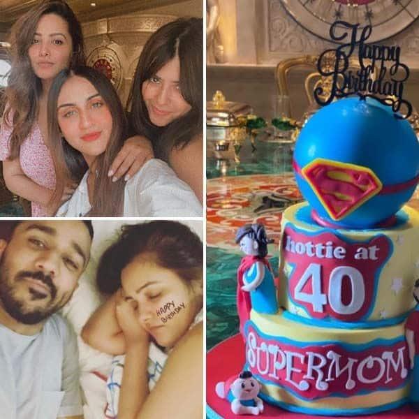 अनीता हसनंदानी ने ऐसे मनाया अपना जन्मदिन