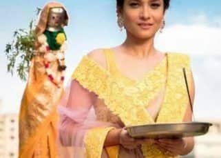 Ankita Lokhande looks resplendent in a beautiful saree as she celebrates Gudi Padwa – watch video