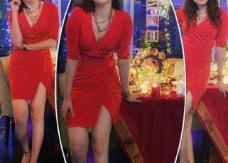 Ankita Lokhande ने बॉयफ्रेंड Vicky Jain संग रात भर जश्न मनाने के बाद शेयर की ग्लैमरस फोटोज, लाल रंग की वन पीस ड्रेस में दिए कातिलाना पोज