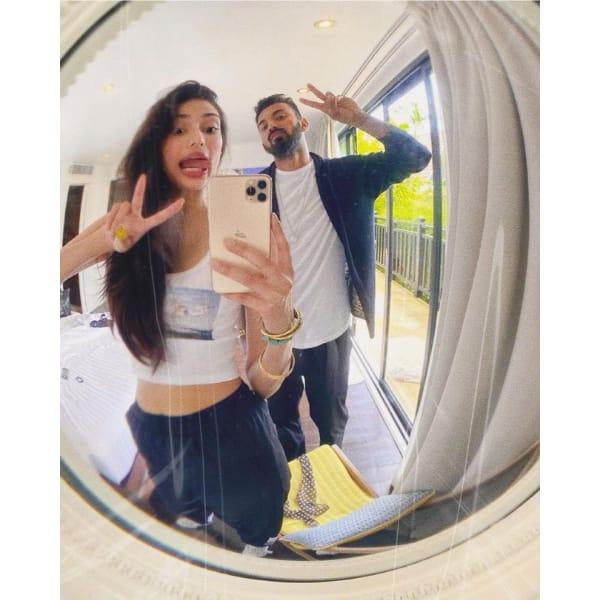 Athiya Shetty and KL Rahul