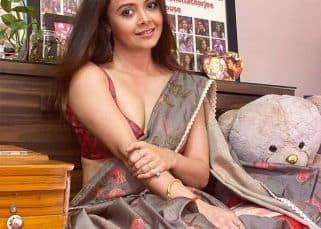 Bigg Boss 13's Devoleena Bhattacharjee stuns in gorgeous floral print saree – view pics
