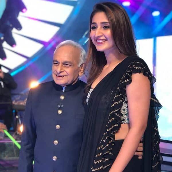 Dhvani Bhanushali meets her idol Anandji