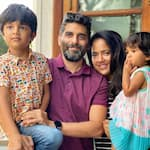 ¡ESPELUZNANTE!  Sameera Reddy revela que su familia, incluidos los niños Hans y Nyra, dieron positivo por COVID-19