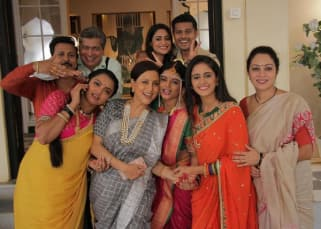 THESE BTS pictures from the sets of Ghum Hai Kisikey Pyaar Meiin prove the cast is a BIG goofy family off-screen