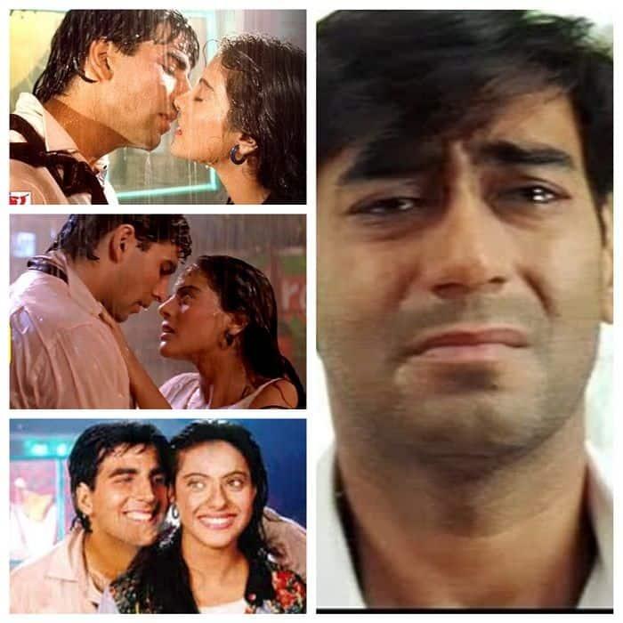 90 के दशक में अक्षय कुमार पर मरती थीं काजोल (Kajol-Akshay Kumar Love Story)