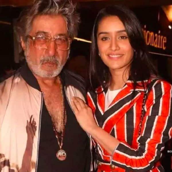 Shakti Kapoor and Shraddha Kapoor