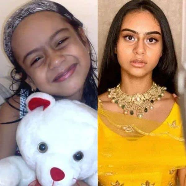 Nysa Devgn's amazing transformation