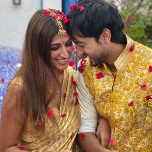 Priyaank Sharma and Shaza Morani