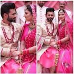 Rahul Vaidya y Disha Parmar de Bigg Boss 14 aplauden cuando su canción de boda Madhanya toma el número 1 - ver video