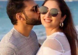 Rahul Vaidya dancing with girlfriend Disha Parmar and kissing her forehead will make you mushy – watch video