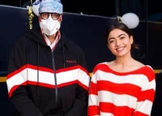 Good Bye के सेट से लीक हुई Amitabh Bachchan-Rashmika Mandanna की फैमिली फोटो