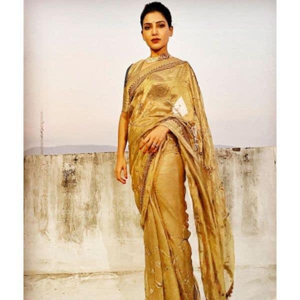 सामंथा अक्किनेनी (Samantha Akkineni) के पास है साड़ियों का शानदार कलेक्शन