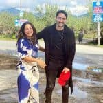 Shaheer Sheikh and Hina Khan share candid and happy pictures. What's cooking?