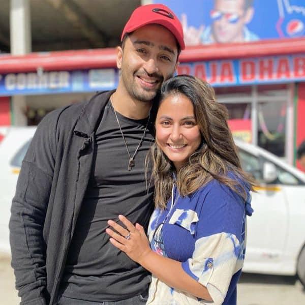 Shaheer Sheikh and Hina Khan come together