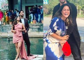 Shaheer Sheikh and Hina Khan's BTS pictures from their upcoming music video will leave you surprised