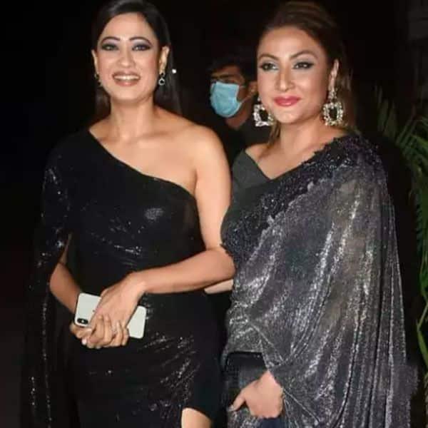 Shweta Tiwari and Urvashi Dholakia