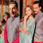 Anupamaa: After recovering from COVID-19, Sudhanshu Pandey makes a dashing entry on the sets and clicks THESE awesome pics with Madalsa Sharma