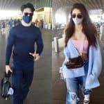 Disha Patani and Tiger Shroff snapped at the airport as they leave for the Maldives