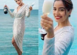 Holiday vibes: Srishty Rode enjoys wine while chilling at the beach; a look at her drool-worthy pics
