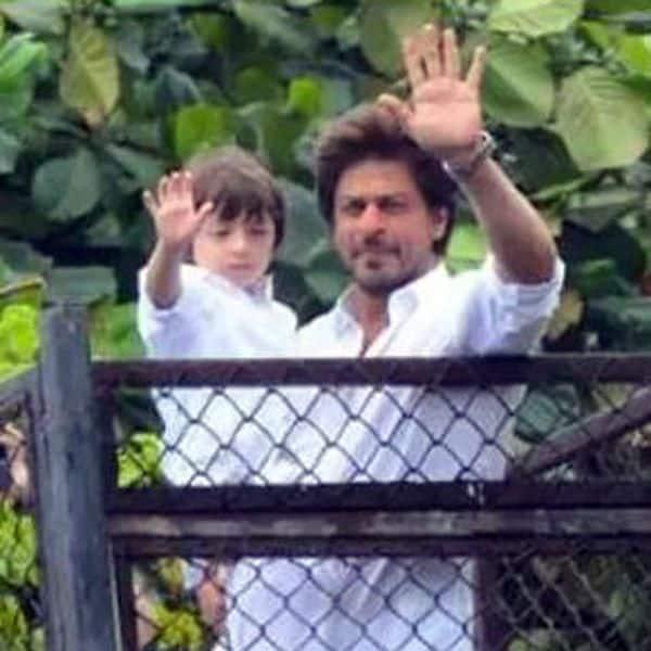 Shah Rukh and AbRam Khan