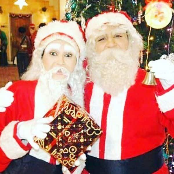 Adorable Santas