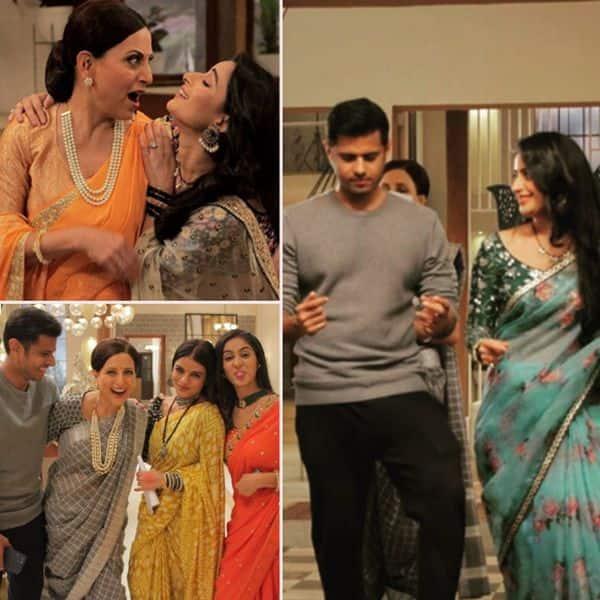 सेट पर नील भट्ट (Neil Bhatt) के साथ खूब मस्ती करती हैं ऐश्वर्या शर्मा (Aishwarya Sharma)