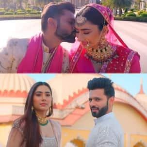 Madhanya Song: शादी के मंडप में रोमांस करते दिखे Rahul Vaidya-Disha Parmar, साथ जीने मरने की कसम खाते आए नजर