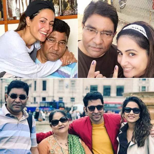 टीवी अदाकारा Hina Khan के पिता की हुई मृत्यु