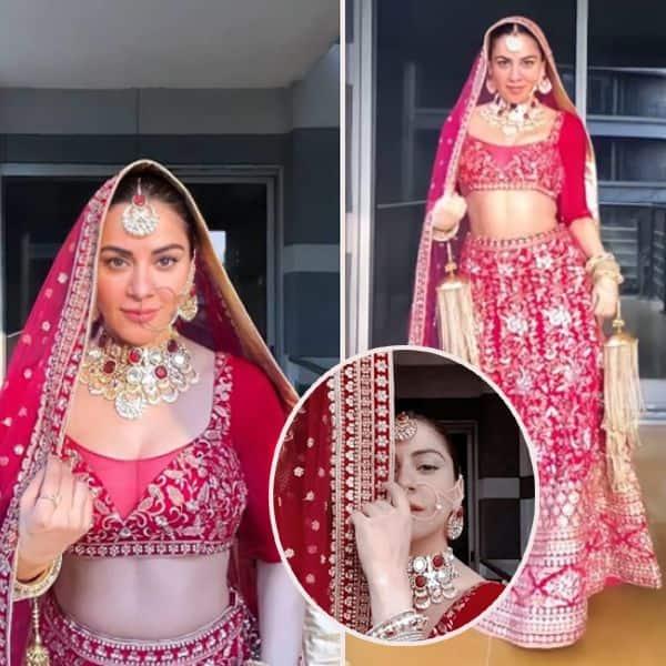 Shraddha looks ravishing in the bridal outfit