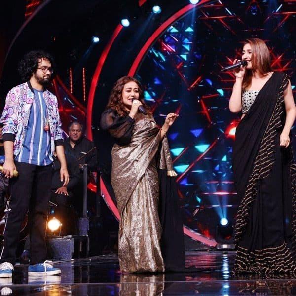 Dhvani Bhanushali on Indian Idol 12