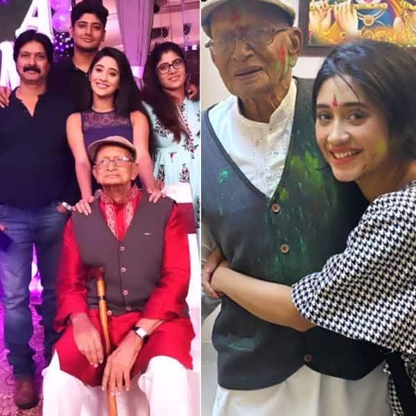 शिवांगी जोशी (Shivangi Joshi) को आई दादू की याद