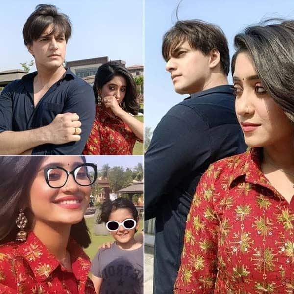 'ये रिश्ता क्या कहलाता है' के सेट पर पहुंचे मोहसिन खान (Mohsin Khan) और शिवांगी जोशी (Shivangi Joshi)