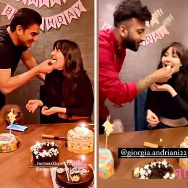 अरबाज खान ने घर पर मनाया जॉर्जिया एंड्रियानी का बर्थडे