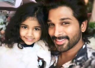 Allu Arjun hugging his kids Ayaan and Arha after testing negative will melt your heart – watch video