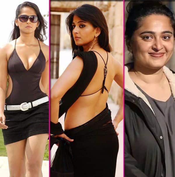 Anushka Shetty's amazing physical transformation journey