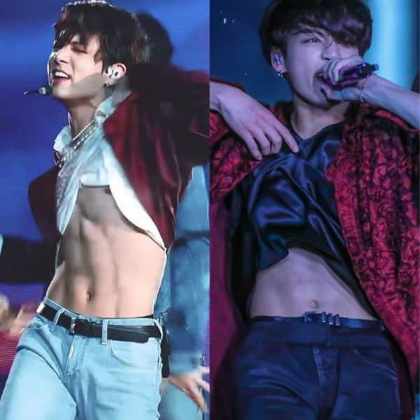 Jungkook and his abs