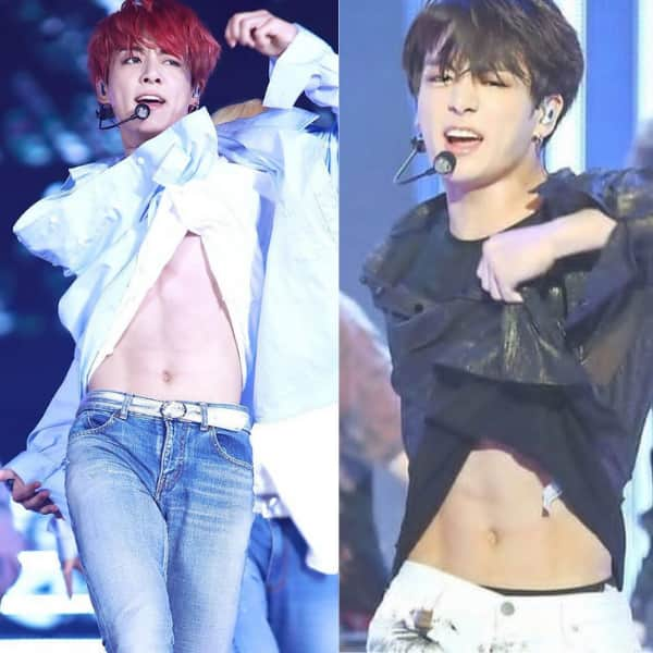 Fitness on Jungkook's mind