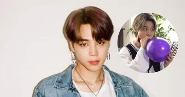 When Jimin inhaled helium and turned into a rapper – watch HILARIOUS video