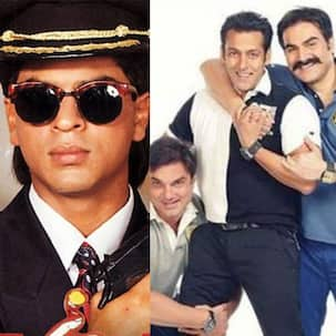 Throwback Thursday: Did you know that before Shah Rukh Khan, Salman Khan and one of his brothers were the hot choices for Baazigar?