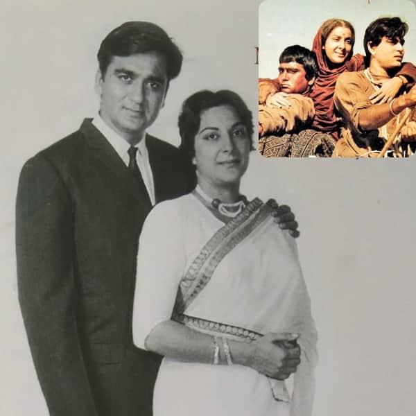 Sunil Dutt, Nargis - Mother India