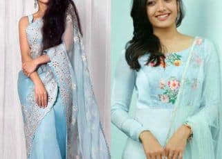 From Rashmika Mandanna to Sai Pallavi: For South Indian style queens blue is the warmest colour this summer