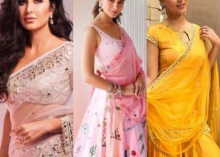 Take inspiration from Katrina Kaif, Alia Bhatt, Hina Khan and other celebrity actresses and look your best on Eid