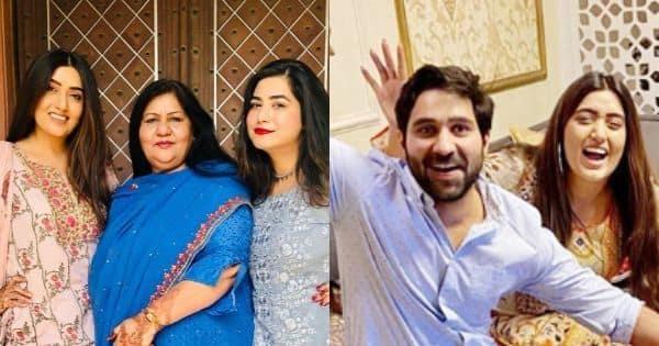 Yeh Hai Mohabbatein actress Shireen Mirza celebrates with beau, Hasan Sartaj –view pics